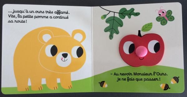 FullSizeRender18  Un livre encastrable avec l'histoire de Roule petite pomme !