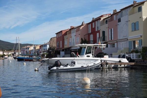 port grimaud bateau  Une balade à Port Grimaud