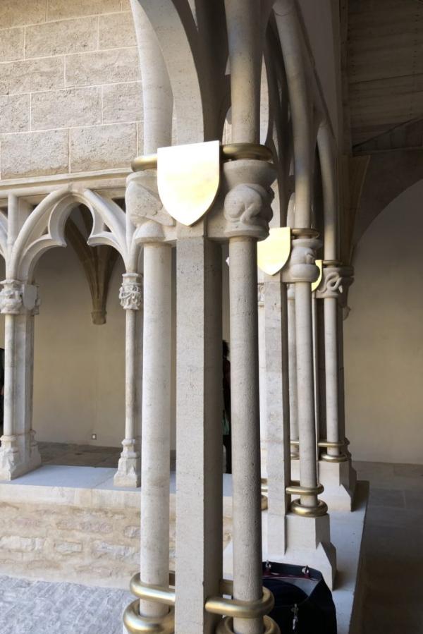 DB153E56 4A65 4846 BBCF D24376101943 683x1024  Visite du Cloître de la Cathédrale Saint Vincent {Chalon sur Saône}