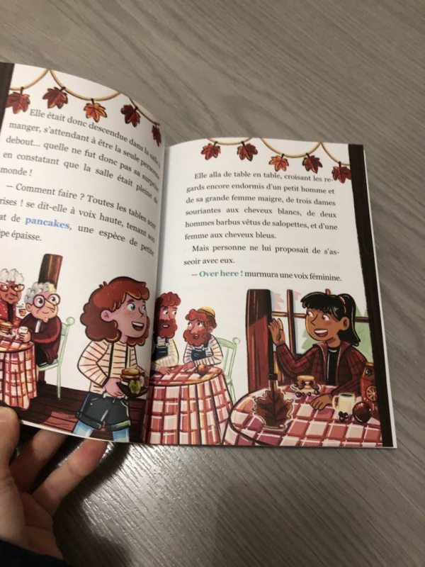 CEF84FB9 26EF 446A BC07 43317B9E34A0 768x1024  La série Cléo Lefort, des romans policiers pour initier les enfants aux langues étrangères