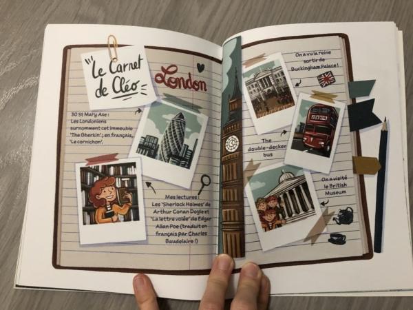 DF2A6511 CF36 4BCF B6FF 56D473272381 1024x768  La série Cléo Lefort, des romans policiers pour initier les enfants aux langues étrangères